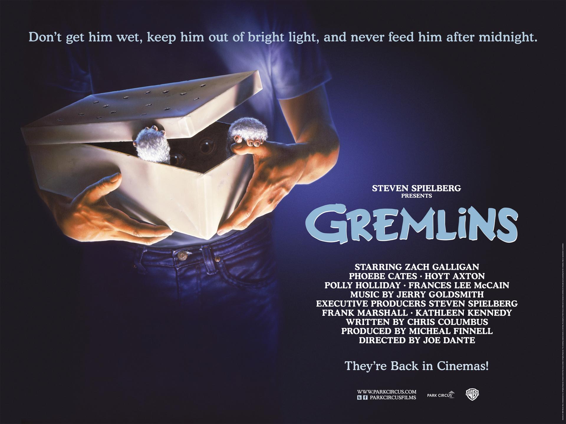 Gremlins - Trailer And Cinema Quad Reissued | Park Circus