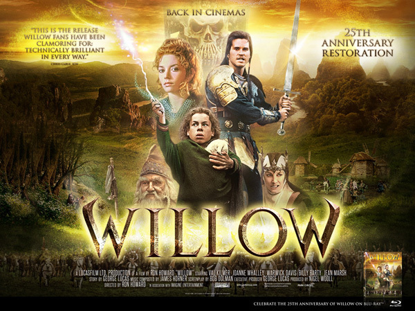 New Posters For Willow 25th Anniversary | Park Circus