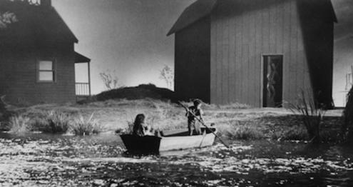 night of the hunter film analysis