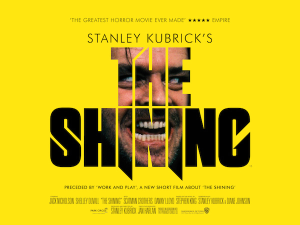 The Shining quad artwork