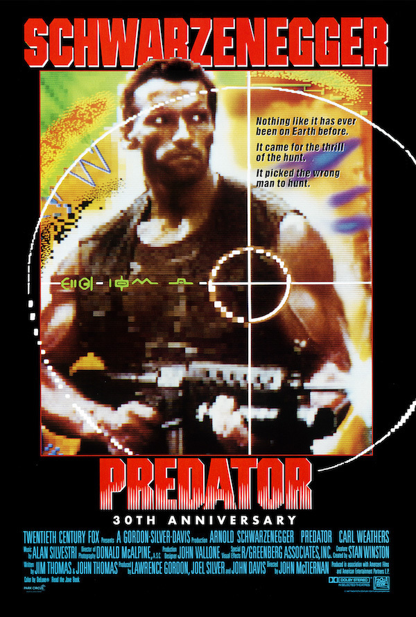 Predator one sheet artwork