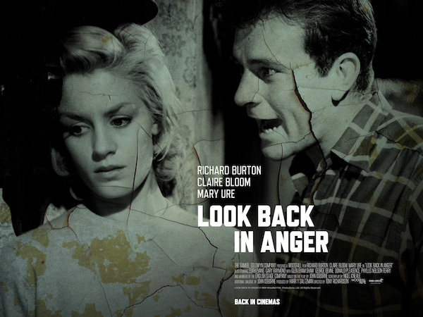 Image result for look back in anger images richard burton