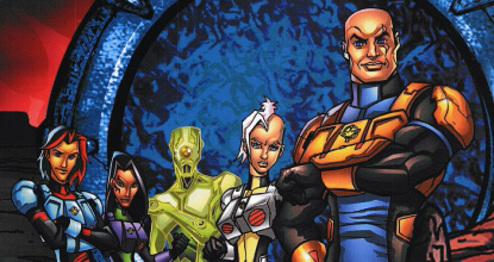 Stargate Cartoon